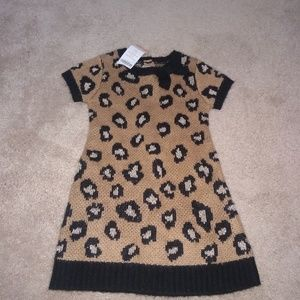 Gymboree leopard sweater dress.